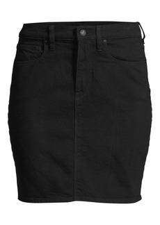 Hudson Jeans Lulu Denim Pencil Skirt