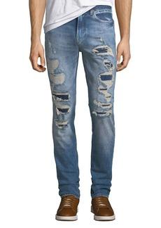 Hudson Jeans Men's Axl Ripped Stretch-Denim Skinny Jeans