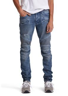Hudson Jeans Men's Blinder Biker Distressed Moto Jeans