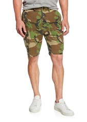 Hudson Jeans Men's Camo Relaxed Chino Shorts