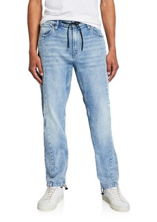 Hudson Jeans Men's Drawcord-Ankle Denim Pants