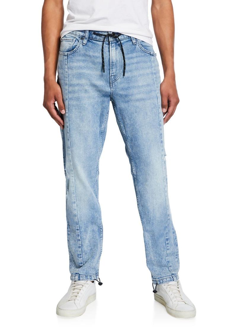 Hudson Jeans Men's Drawcord-Ankle Denim Pants