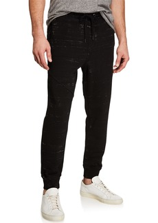 Hudson Jeans Men's French Terry Jogger Pants