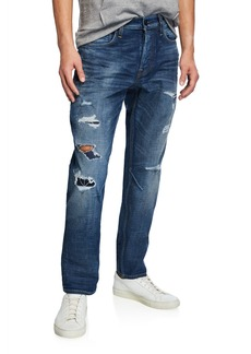 Hudson Jeans Men's Sartor Delinquent Distressed Jeans