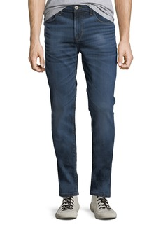 Hudson Jeans Men's Sartor Distressed Slouchy-Skinny Jeans  Blue