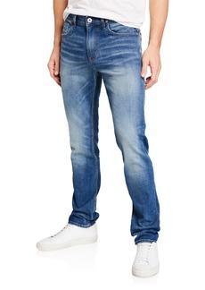 Hudson Jeans Men's Sartor Relaxed Skinny Denim Jeans  Light Blue