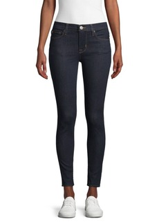 Hudson Jeans Mid Rise Ankle Skinny Jeans