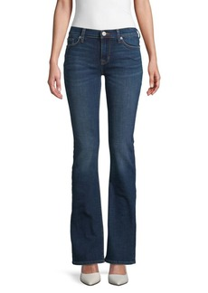 Hudson Jeans Mid-Rise Flared Boot-Cut Jeans
