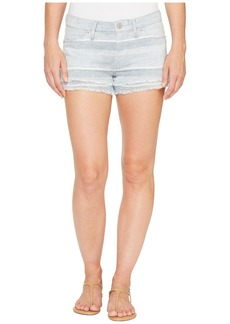 Hudson Jeans Midori Double Layer Cut Off Shorts in Barely There 2