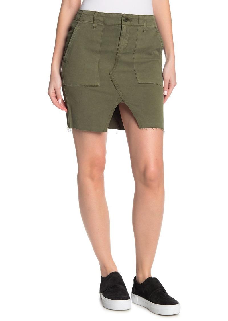 Hudson Jeans Military Lulu Cargo Skirt