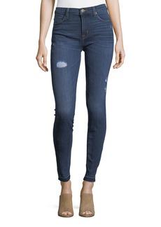 Hudson Jeans Natalie Distressed Skinny Jeans