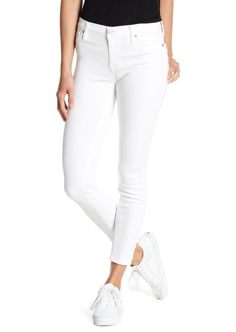 Hudson Jeans Natalie Mid Rise Ankle Skinny Jeans