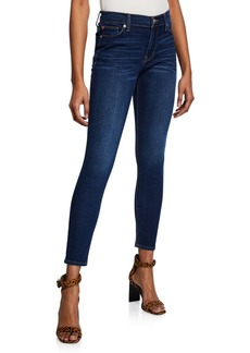 Hudson Jeans Natalie Mid-Rise Ankle Skinny Jeans