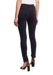 Hudson Jeans Natalie Mid-Rise Cropped Jeans