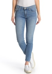 Hudson Jeans Natalie Mid Rise Cropped Skinny Jeans