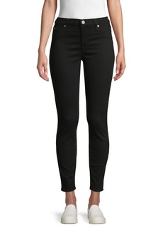 Hudson Jeans Natalie Mid-Rise Skinny Ankle Jeans