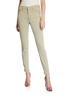 Hudson Jeans Natalie Mid-Rise Skinny Ankle Pants