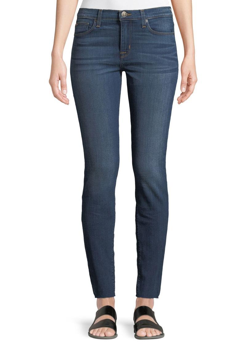 Hudson Jeans Natalie Raw-Hem Ankle Jeans