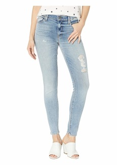 Hudson Jeans Nico Mid-Rise Ankle Super Skinny in Friction