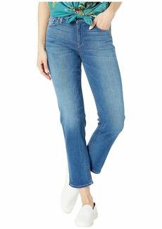 Hudson Jeans Nico Mid-Rise Cigarette Five-Pocket Jeans in Vision