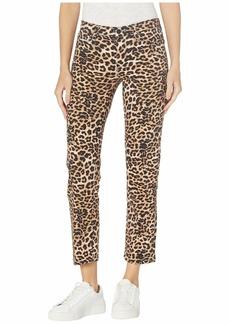 Hudson Jeans Nico Mid-Rise Cigarette in Classic Leopard