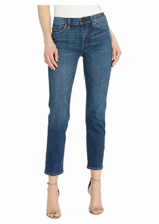 Hudson Jeans Nico Mid-Rise Cigarette Jeans in Love Chaser