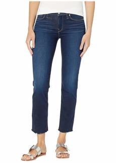 Hudson Jeans Nico Mid-Rise Cigarette Raw Hem in Elevate