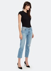 Hudson Jeans Nico Mid Rise Crop Straight Jeans