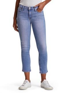 Hudson Jeans Nico Mid-Rise Crop Straight-Leg Jeans