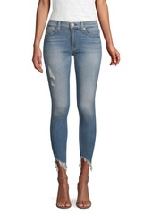Hudson Jeans Nico Mid-Rise Cropped Jeans