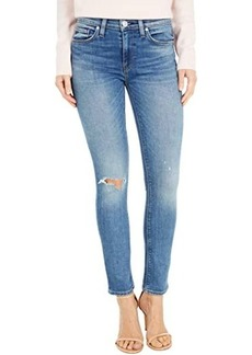 Hudson Jeans Nico Mid-Rise Skinny Ankle in Crave