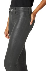 Hudson Jeans Nico Coated Mid-Rise Skinny Ankle Jeans