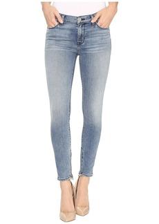 Hudson Jeans Nico Mid-Rise Skinny w/ Ankle Zip in Shotgun