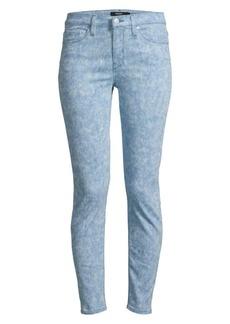 Hudson Jeans Nico Mid-Rise Spray Ankle Skinny Jeans