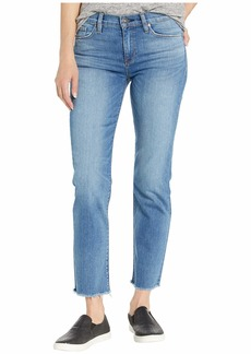 Hudson Jeans Nico Mid-Rise Straight Crop in Lovesick