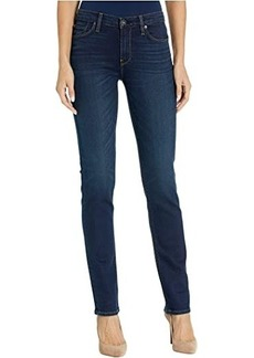 Hudson Jeans Nico Mid-Rise Straight in Requiem