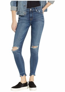 Hudson Jeans Nico Mid-Rise Super Skinny Ankle in Sequel