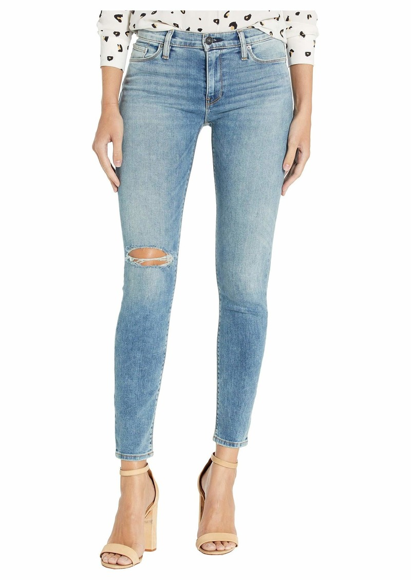 Hudson Jeans Nico Mid-Rise Super Skinny Ankle in Soft Light