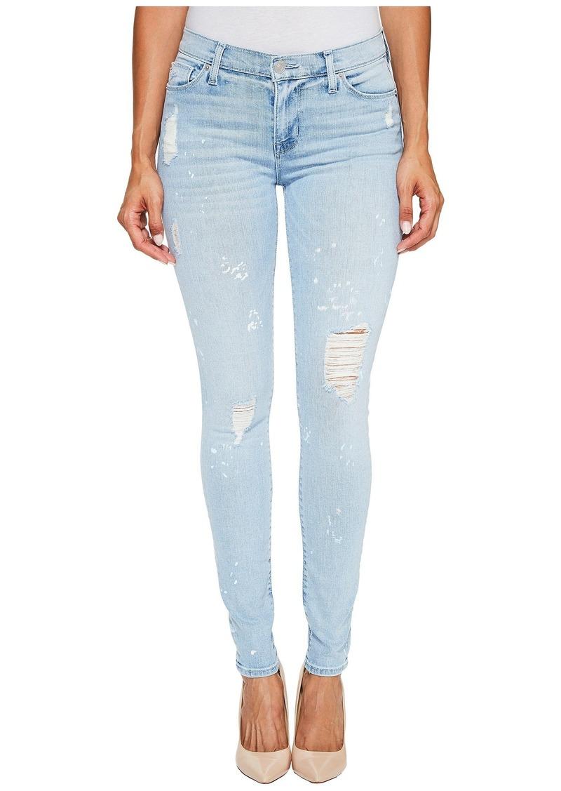 Hudson Jeans Nico Mid-Rise Super Skinny Five-Pocket Jeans in Reflector