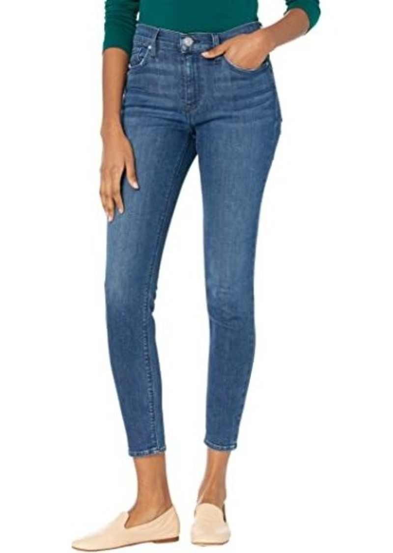 Hudson Jeans Nico Mid-Rise Super Skinny in Abby