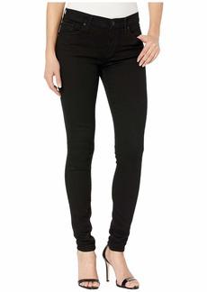 Hudson Jeans Nico Mid-Rise Super Skinny in Black