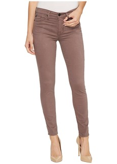 Hudson Jeans Nico Mid-Rise Super Skinny in Umber