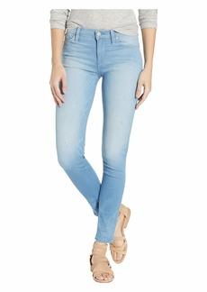 Hudson Jeans Nico Mid-Rise Super Skinny in Worn Dream Away