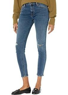 Hudson Jeans Nico Mid-Rise Super Skinny in Worn Shakedown