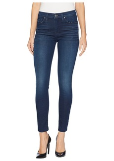 Hudson Jeans Nico Mid-Rise Super Skinny Jeans in Midway
