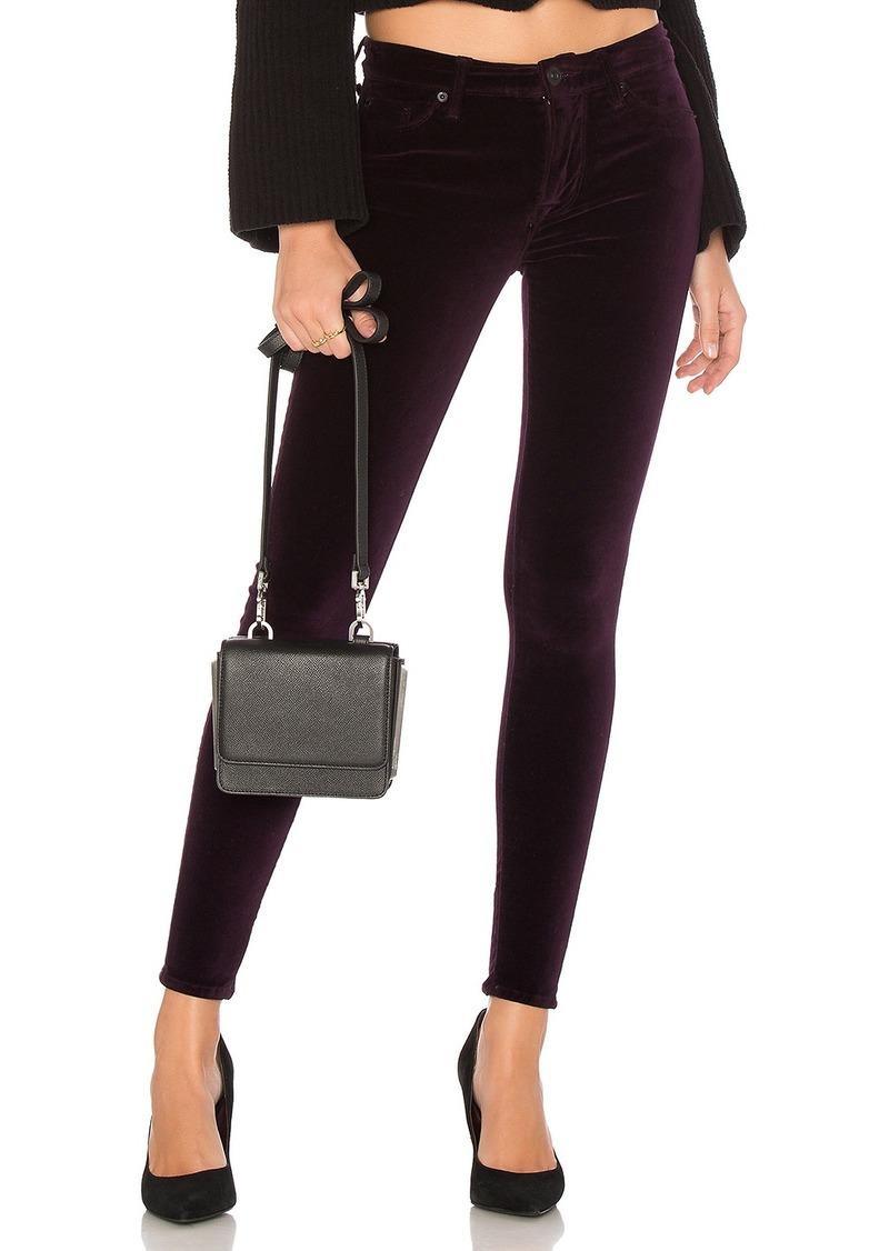 Hudson Jeans Nico Midrise Velvet Ankle Skinny