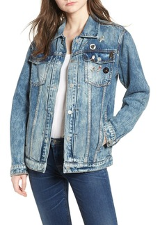 Hudson Jeans Oversize Denim Trucker Jacket