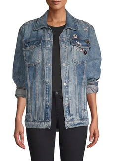 Hudson Jeans Oversized Denim Trucker Jacket