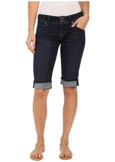 Hudson Jeans Palerme Knee Shorts in Elemental