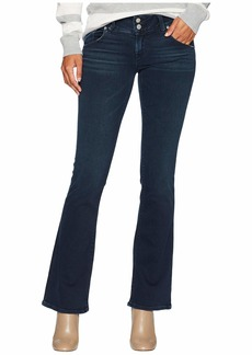 Hudson Jeans Petite Signature Mid-Rise Bootcut in Down N Out